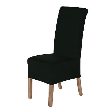 SCHEFFLER-Home Lena 2 Fundas de sillas, Estirable Cubiertas de la sillas, extraíble elástica Funda, con Banda elástica, Ajuste Universal, Altura ...