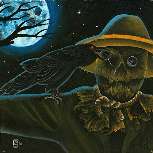 Harvest Moon by Tony Carey Haunted Forest Scarecrow