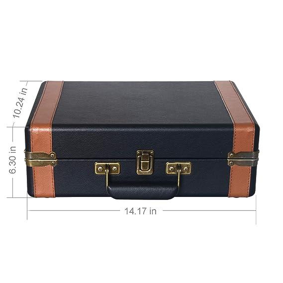 Amazon.com: VMO Suitcase Turntable: Home Audio & Theater