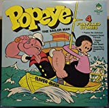 Popeye The Sailor Man 4 Fun Filled Stories vinyl record