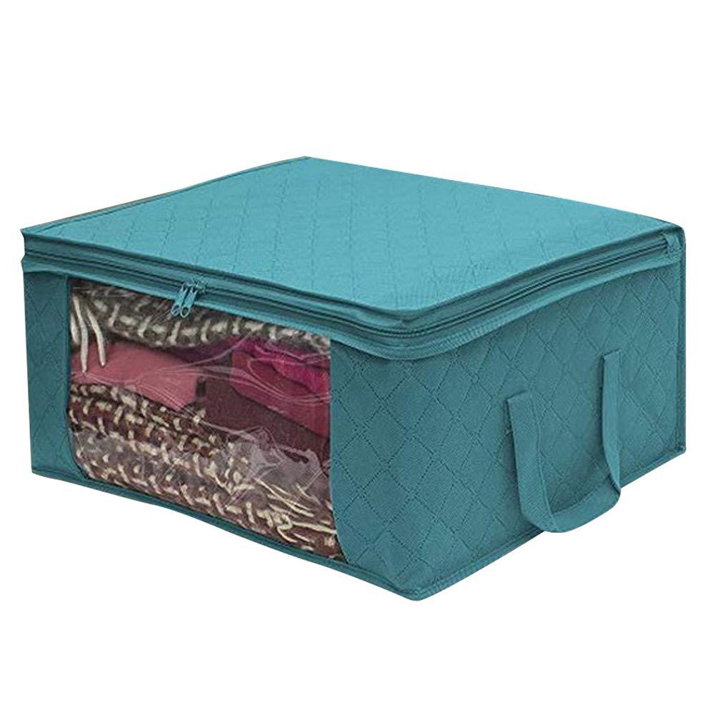v/êtements literie couvertures 3 Paquets sous Sacs de Rangement de lit Pliable pour douillettes d/ém/énagement XHXseller Organisateur de Sac de Rangement pour v/êtements