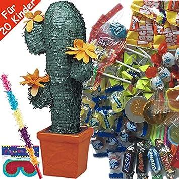 Carpeta© - Juego de piñata (Incluye máscara y Raqueta y 100 ...