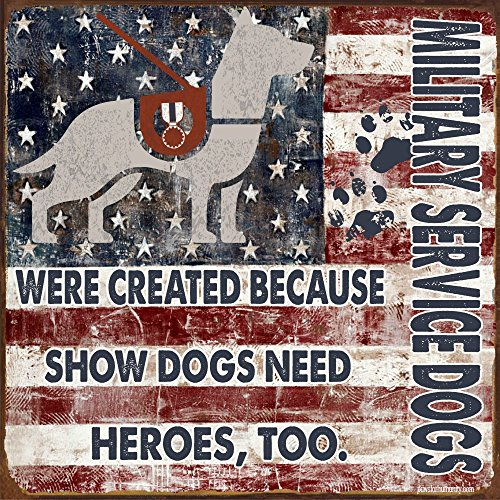 Service Dog Signs ~ Military Service Dogs Were Created Because