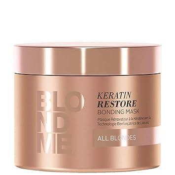 :BLONDME Keratin Restore Bonding Mask for All Blondes, 16.9 fl. Ounce