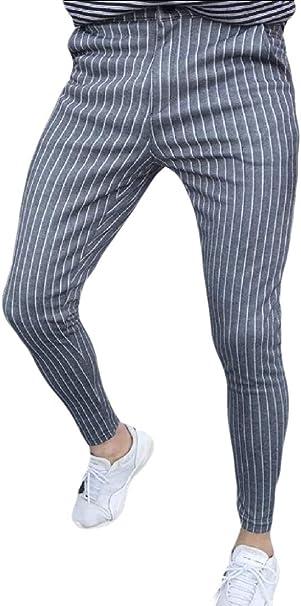 BingSai Pantalones de chándal para Hombre, Informales, Ajustados ...