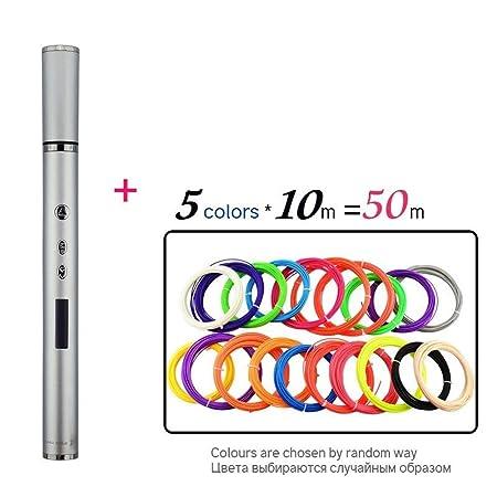 Impresora 3D Pen Pen Garabato OLED PLA ABS filamento 3D Impresión ...