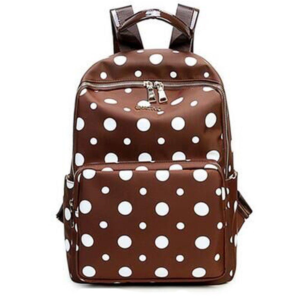 Saumota Super Cute Waterproof Nylon Sports Backpack Diaper Bags-Brown by Saumota