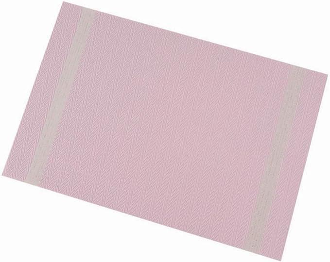 Image of AJINGE - Juego de 6 manteles individuales antideslizantes resistentes al calor con aislamiento térmico, lavables, de secado rápido, para cocina y comedor