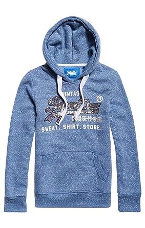 Shirt Entry Femme Sequin HoodPull Shop Superdry 3R54AjcqL