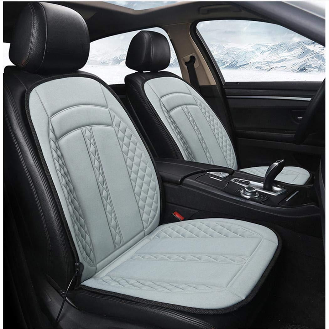 Zippem 12V Non-slip Heating Warmer Pad Cover Heated Car Seat Cushion Seat Cushions