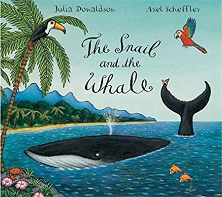 The Snail and the Whale: Amazon.co.uk: Donaldson, Julia, Scheffler, Axel:  Books