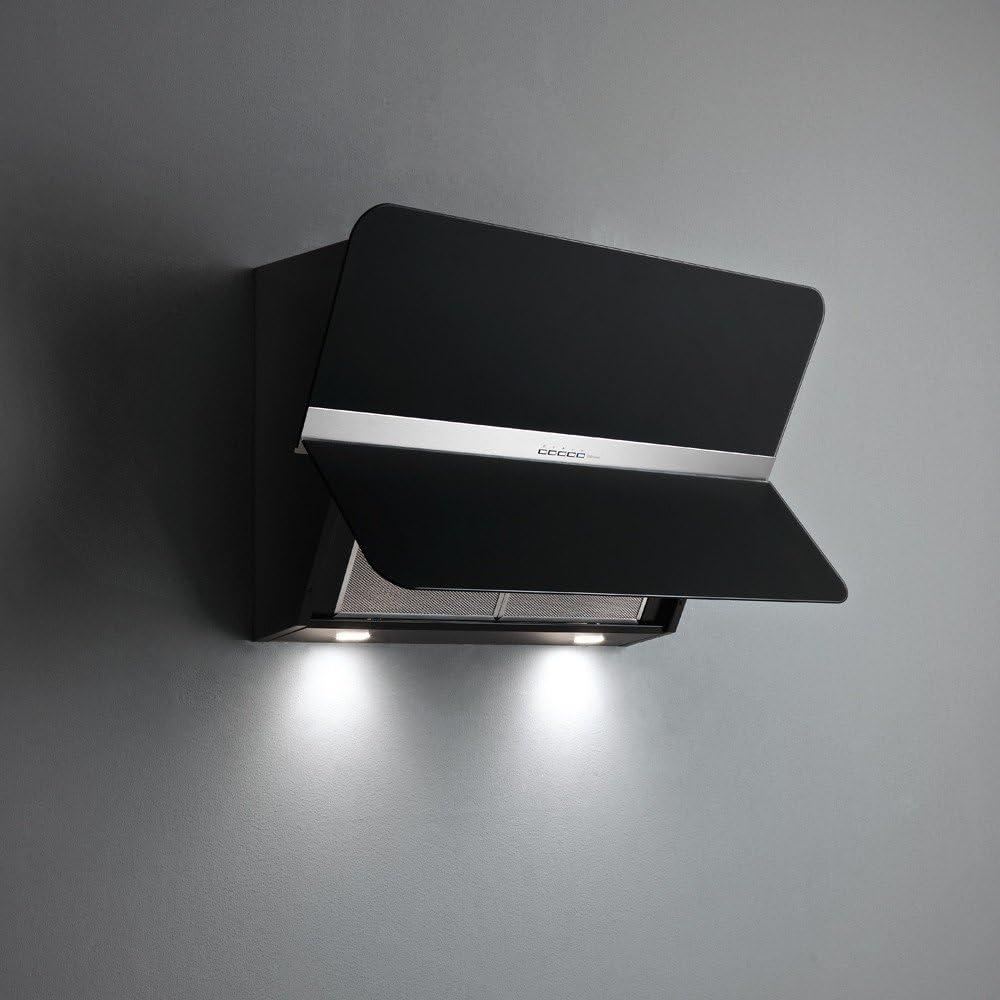 Falmec – Campana de pared Flipper NRS acabado negro satinado de 85 cm: Amazon.es: Hogar