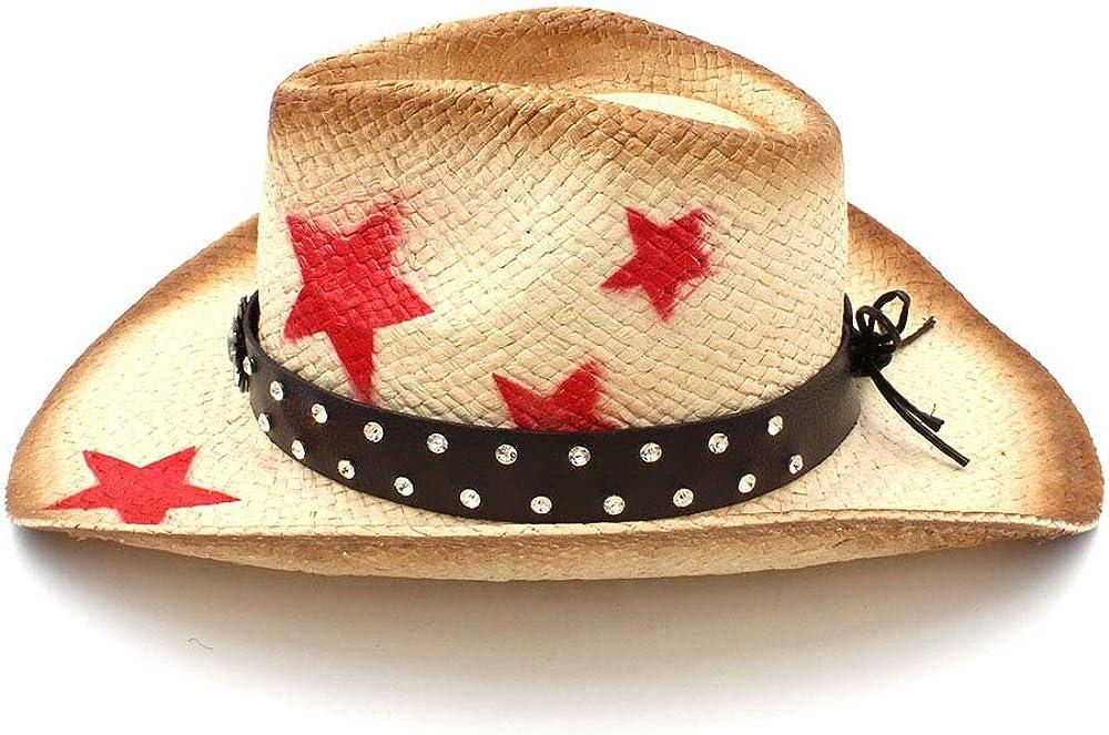 Centenarios Women Men Straw Western Cowboy Hat Summer Handmade Weave Lady Sombrero Hombre Cowgirl Caps Bohemian