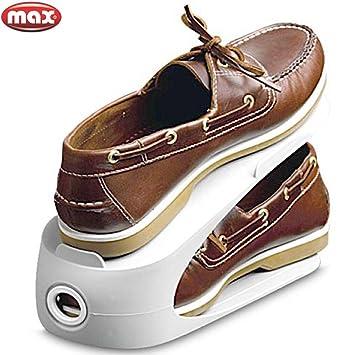 Max Range Chaussures Pour Gain De Place Couleurs Assorties Noir