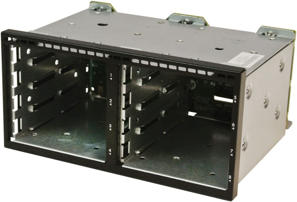 HP DL380p / 385p Gen8 Hard drive cage 8SFF with Backplane Board 670943-001