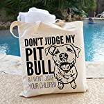 Don't Judge My Dog Tote Bag by Pet Studio Art 12