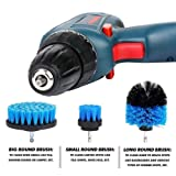 Shentesel Power Scrubber Brush Set Bathroom Drill