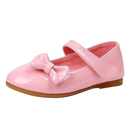 9d6b895691cba Lopetve Zapatos para Ni a Zapatillas Sandalias Merceditas Mary Janes Chicas  Tama o Rosa 29  Amazon.es  Zapatos y complementos