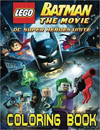 Amazon.com: LEGO BATMAN: Coloring Book for Kids and Adults - 40 ...