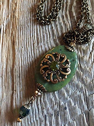 Antique Filigree/08 Bejeweled Rosette on Vintage (Bejeweled Filigree)