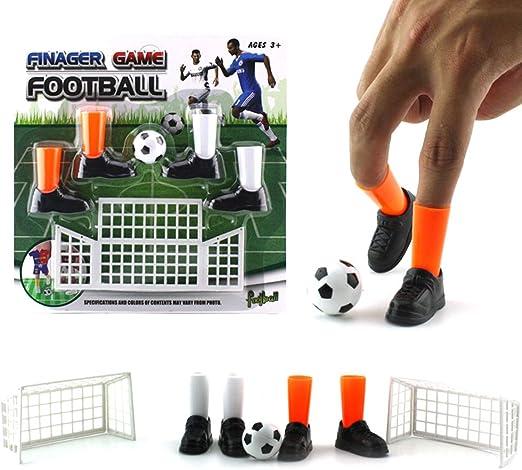 Egosy Juguete De Juego De Fútbol con Dedos Juego De Juguetes con Dos Divertidos Juegos para Niños: Amazon.es: Hogar