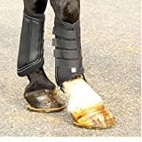 Intrepid International Gel Insert Splint Boots, X-Large, Black