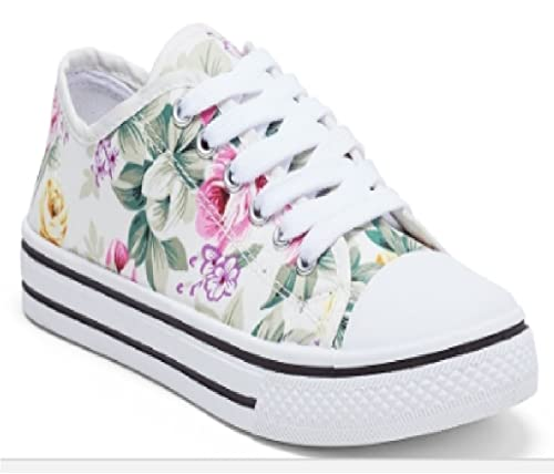 Pure Collection Girls White Shoe with