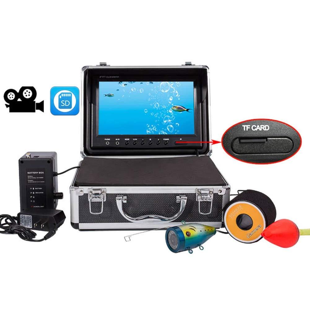 9インチ水中魚群探知機HD水中カメラTFTカラーディスプレイCCDとHD 1000TVLカメラDVRビデオ(15M)   B07QSPZJRG, ヒロショウe-shop:900e7ac9 --- tandlakarematspetersson.se