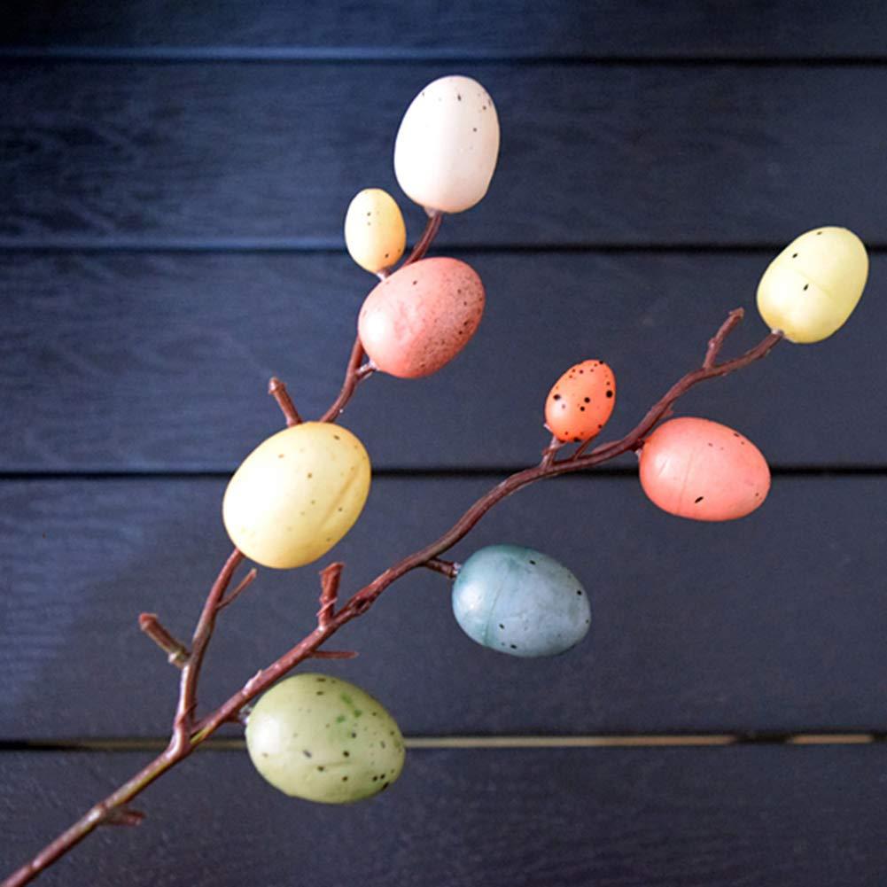 Set di 5 Decorazioni per Uova di Pasqua Decorazione per la casa Uovo Pasquale Takefuns Ghirlanda di Uova di Pasqua