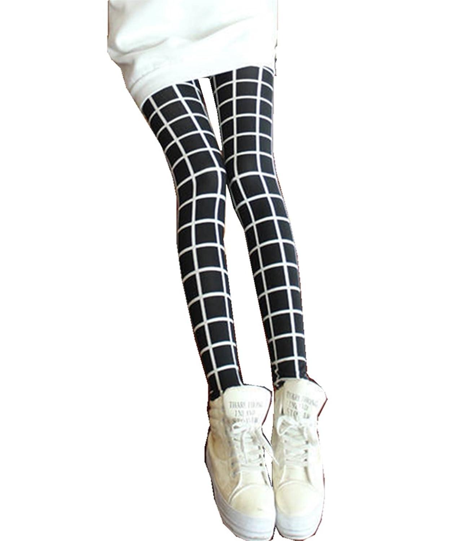 JOYHY Women's Spring Autumn Stretchy Print Legging Pants