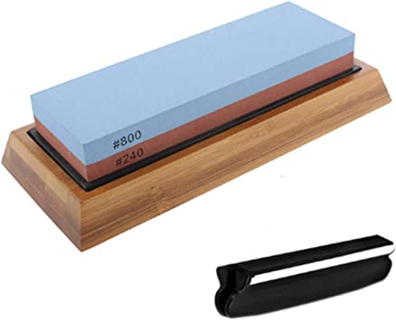 Double-Sided Whetstone Sharpener Water Stone 240-8000 Grit Sharpening Tools