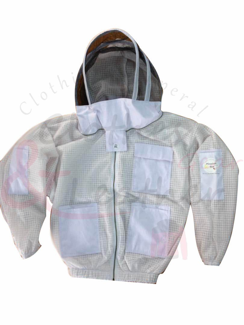 Ultra Ventilated Beekeeping Jacket With fancy Veil (XXL)