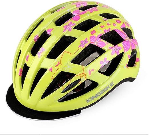 S-TK Casco De Bicicleta For Mujer Cascos De Bicicleta For Adultos ...