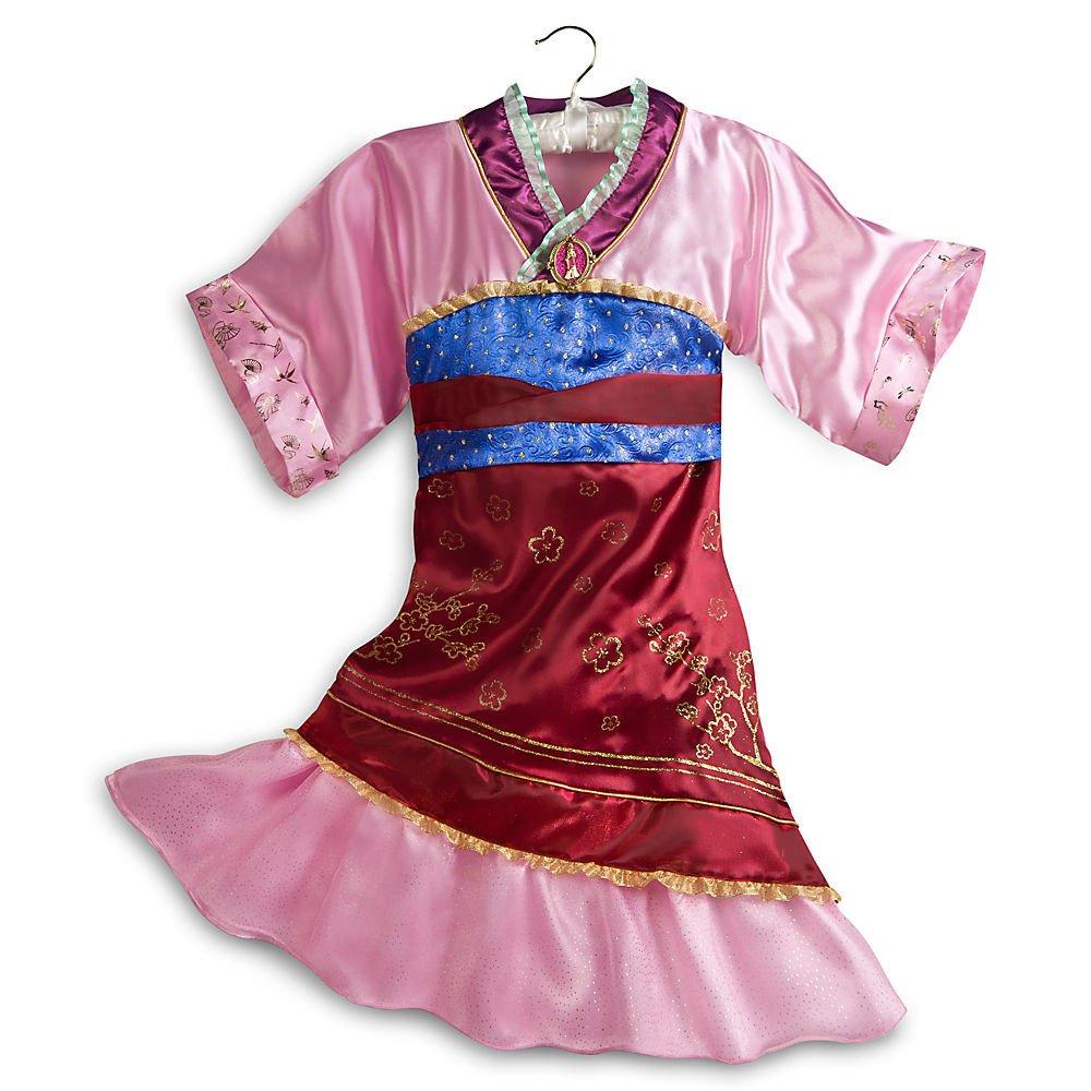 Disney Store Mulan Costume Dress Halloween Size XS Extra Small 4 4T