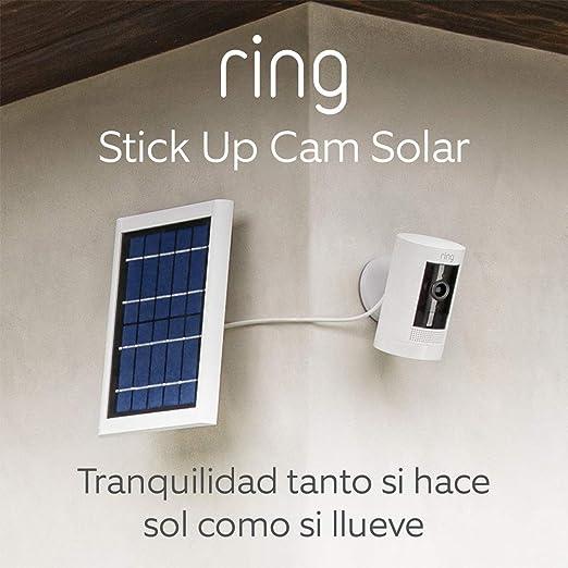 Ring Stick Up Camara vigilancia Solar