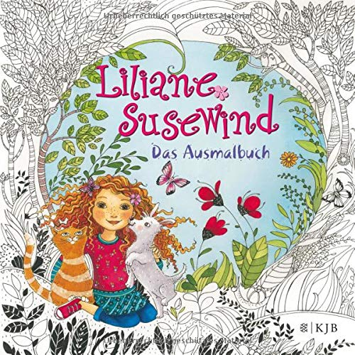 Liliane Susewind Das Ausmalbuch Amazon De Tanya Stewner