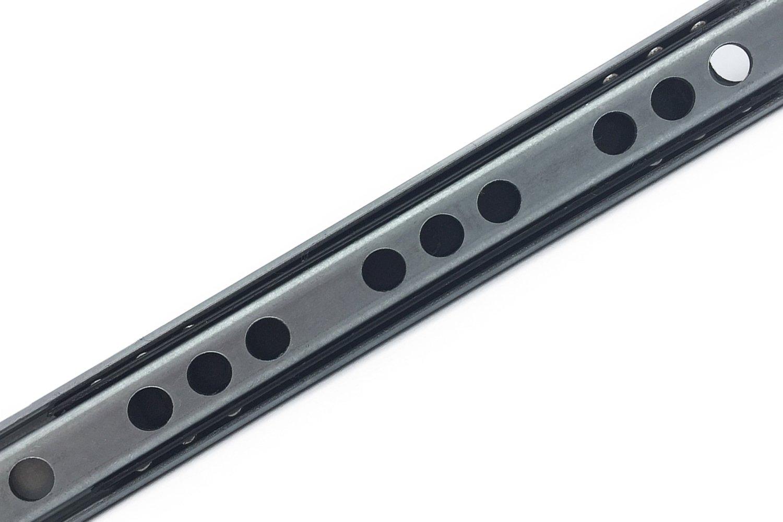 Gu/ías para cajones Gu/ías de Rodillo para caj/ón extracci/ón parcial 17mm x 214mm 1 Par 2 X Mprofi MT/®