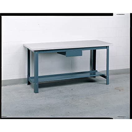 Tremendous Economy Work Bench W Laminated Plastic Shelf 60 In Theyellowbook Wood Chair Design Ideas Theyellowbookinfo