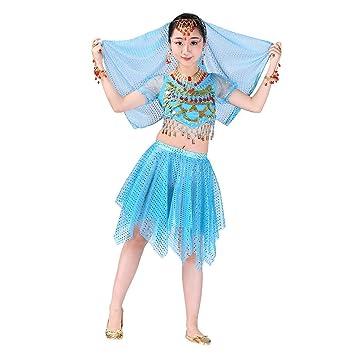 Amazon.com: Set de vestidos de danza para el vientre de niña ...
