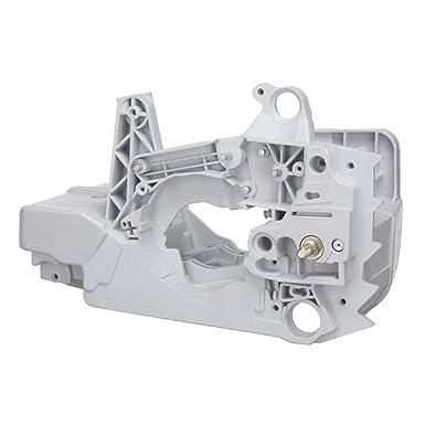 CCChaRLes Carcasa Del Motor Lawnmower Tanque De Gas De Combustible ...
