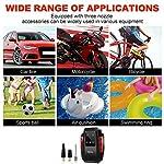 RIKIN-Compressore-Portatile-per-Auto-Aria-Compressa-Pompa-Elettrica-150PSI-Pressione-Gonfiatore-Digitale-Portable-12V-120W-con-Luce-LED-per-Bici-da-Auto