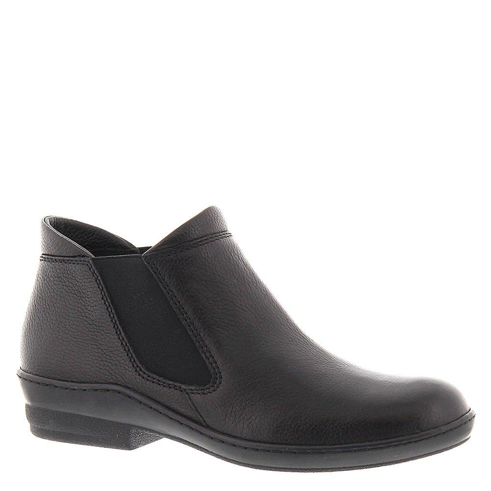 David Tate Women's London Fashion Ankle Boots, Black Leather, 9 N