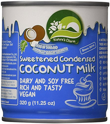 Nature's Charm Sweetned Condensed Coconut Milk, 11.25 Oz. (Pack of 2)