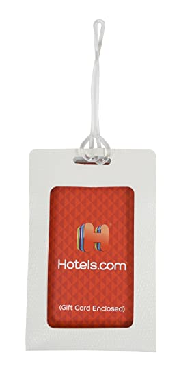 Amazon.com: Hotels.com $250 Gift Card with Free Luggage Tag: Gift ...