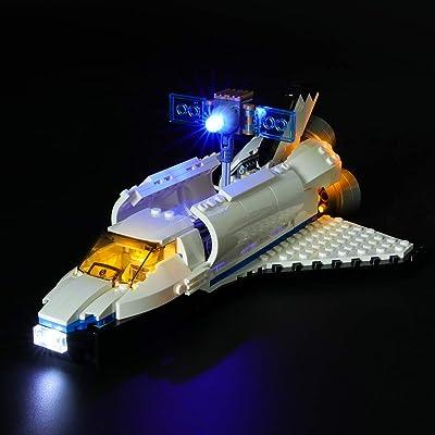 LIGHTAILING Light Set for (Creator Space Shuttle Explorer) Building Blocks Model - Led Light kit Compatible with Lego 31066(NOT Included The Model): Toys & Games