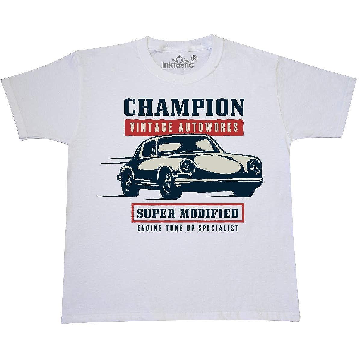 8fdf9172e Amazon.com: inktastic - Classic Racing Champion Youth T-Shirt 339d5:  Clothing