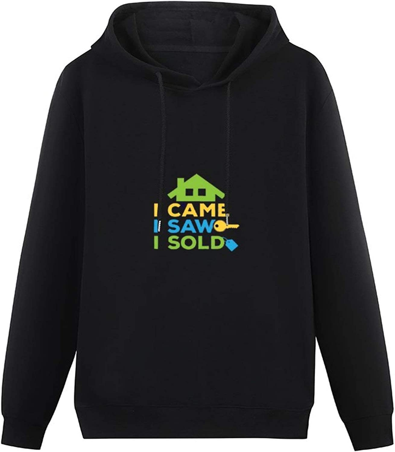 I Came I Saw I Sold Apron All-Match Hoodie boy Style Pullover