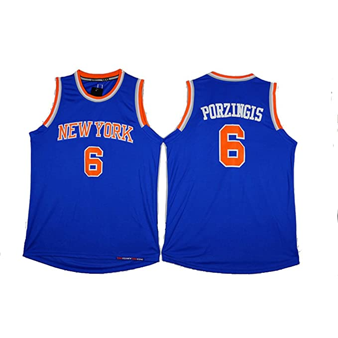 Amazon.com: Camisetas de baloncesto sin mangas #6 para ...