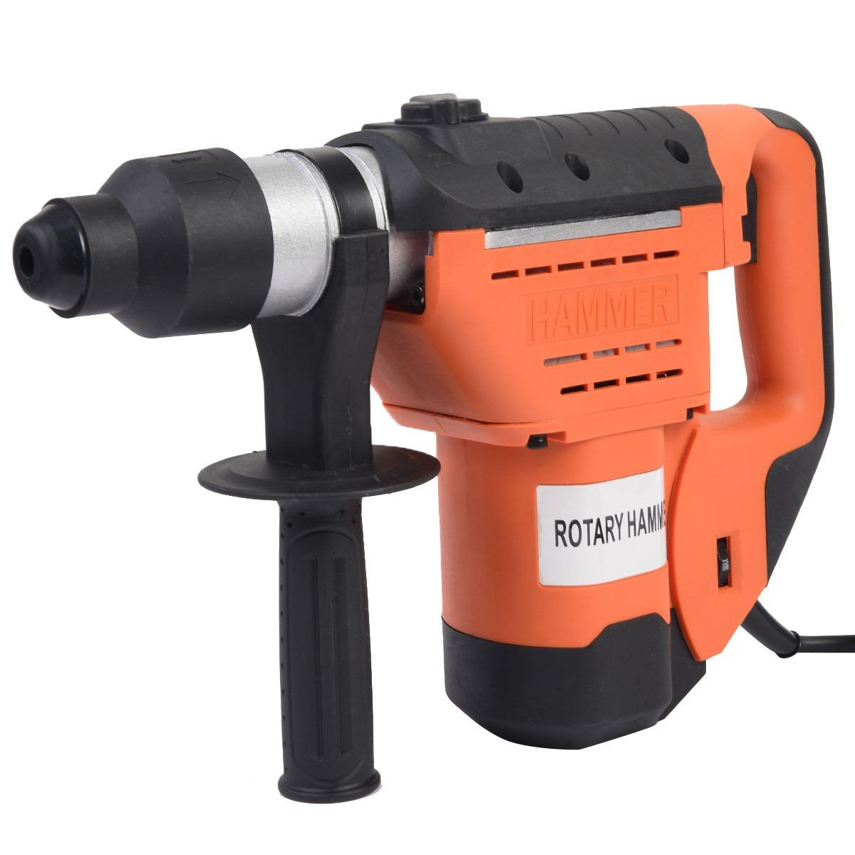 MD Group 1-1/2'' SDS Electric Rotary Drill Plus Demolition Bits Variable Speed New