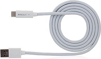 StilGut Cavo USB 3.0 Type-C a USB A, (1 m), bianco